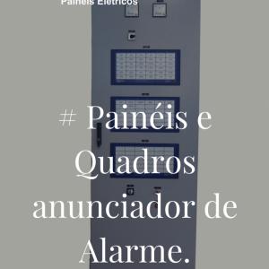 painéis e quadros de anunciador de alarme
