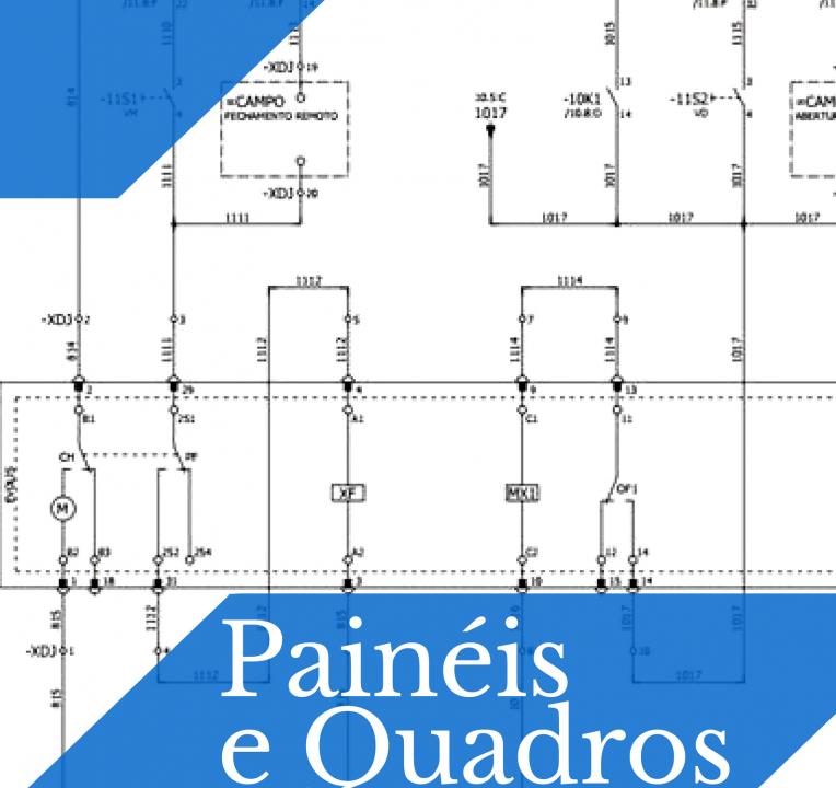 Painéis e Quadros Elétricos
